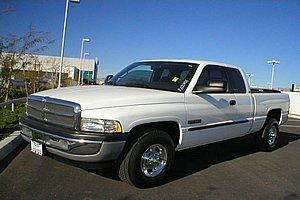 Used Car Auction Listing: Dodge Ram Truck: Not From a Government Auction